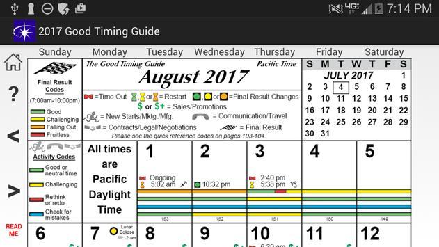Good Timing Guide 2017 apk screenshot