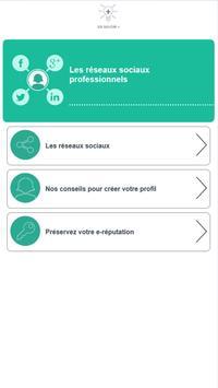 Réseaux sociaux - Pôle emploi screenshot 5