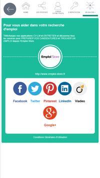 Réseaux sociaux - Pôle emploi screenshot 9
