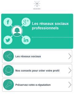 Réseaux sociaux - Pôle emploi poster