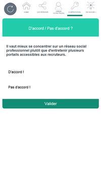 Réseaux sociaux - Pôle emploi screenshot 13