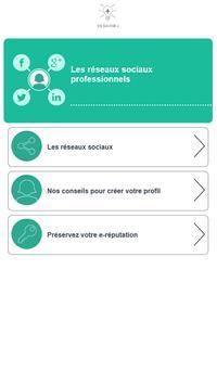 Réseaux sociaux - Pôle emploi screenshot 10