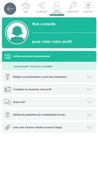 Réseaux sociaux - Pôle emploi screenshot 12