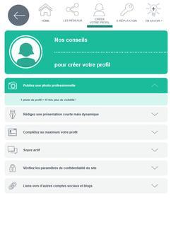 Réseaux sociaux - Pôle emploi screenshot 2