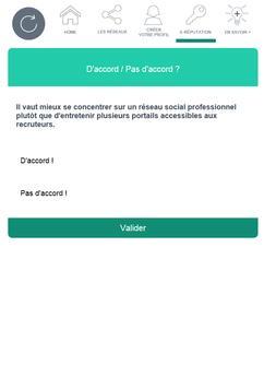 Réseaux sociaux - Pôle emploi screenshot 3