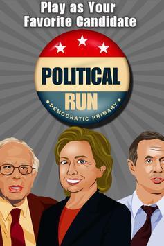 Political Run - Democrat poster