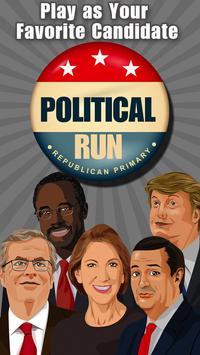 Political Run - Republican poster