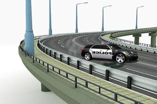Police Car HD screenshot 3