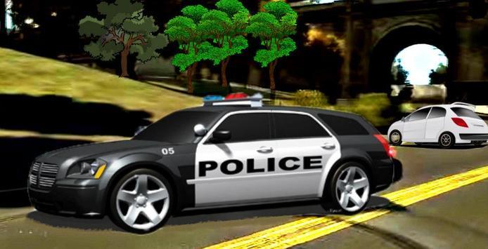 Police Car HD screenshot 1