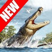 Police Crocodile Simulator 3D icon