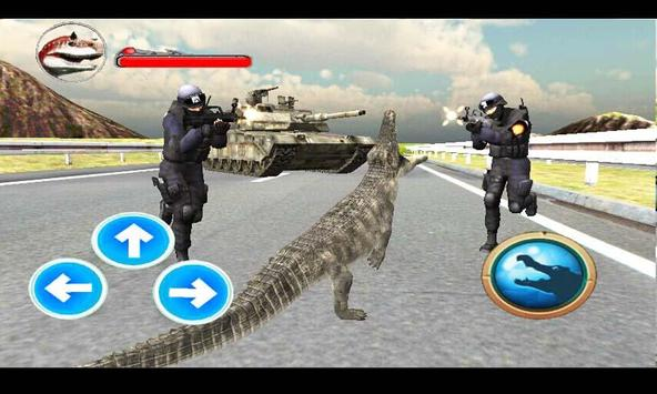 Police Crocodile Simulator 3D screenshot 2