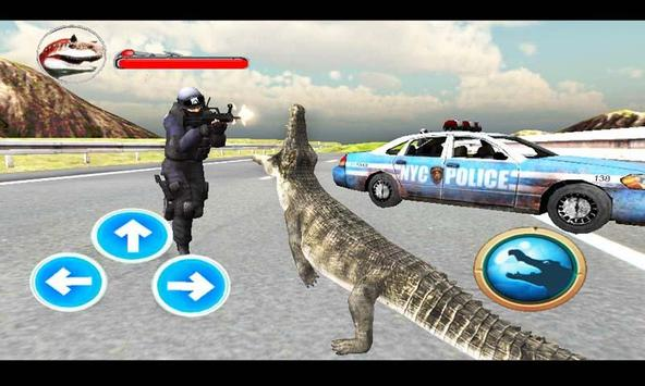 Police Crocodile Simulator 3D screenshot 3