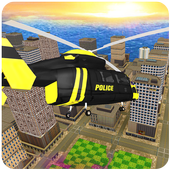 Police Helicopter : Extreme Flight Simulator Games icon