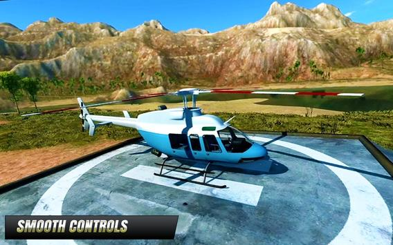 Police Helicopter : Extreme Flight Simulator Games screenshot 10