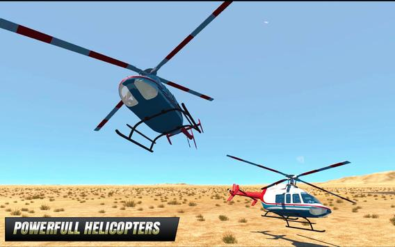 Police Helicopter : Extreme Flight Simulator Games screenshot 1