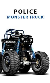 Police Monster Truck games screenshot 4