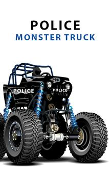 Police Monster Truck games poster