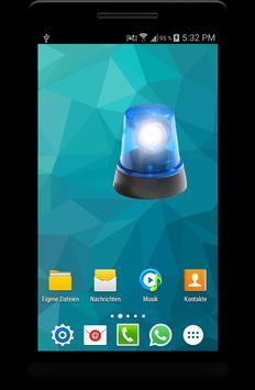 Police Siren Widget App screenshot 1