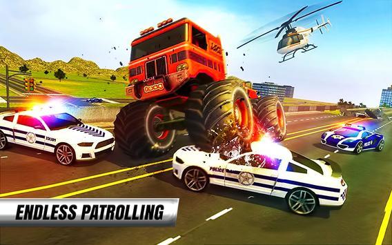 Police Car Simulator : Crime City Monster Chase 3D screenshot 6