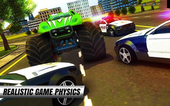 Police Car Simulator : Crime City Monster Chase 3D screenshot 11