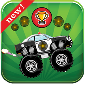 Police Monster Truck icon