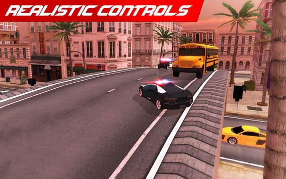 Police Car: City Driving Simulator Criminals Chase screenshot 3