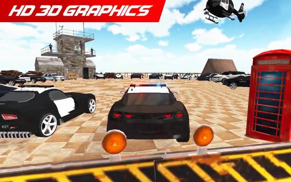 Police Car: City Driving Simulator Criminals Chase screenshot 10