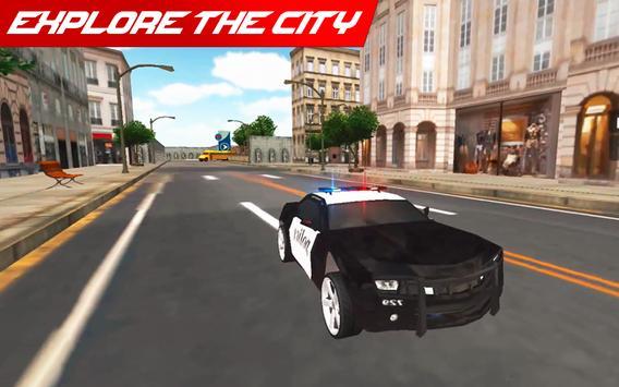 Police Car: City Driving Simulator Criminals Chase screenshot 8