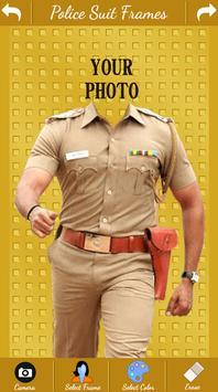 Police photo suit uniform apk screenshot