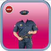 Policeman Photo Suit icon