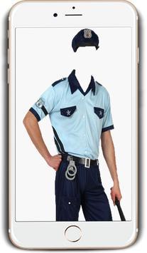 Policeman Photo Suit screenshot 3