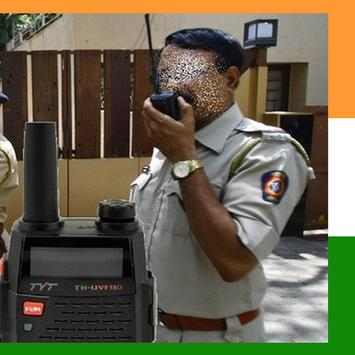 India Police Scanner Radio poster