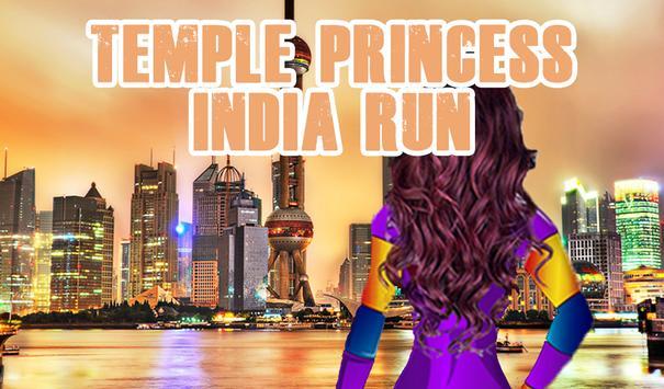 Temple Princess India Run - World Tour Shanghai poster