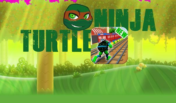 Subway Ninja Turtle Legend Adventure poster