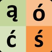 Polish Alphabet for university students icon