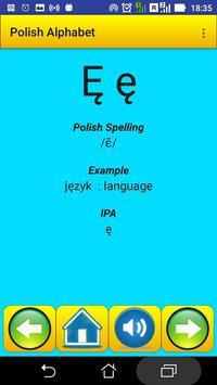 Polish Alphabet for university students screenshot 3