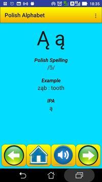 Polish Alphabet for university students screenshot 17