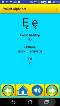 Polish Alphabet for university students screenshot 19