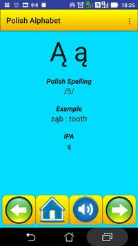 Polish Alphabet for university students screenshot 1