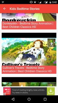 Kids Bedtime Stories Videos apk screenshot