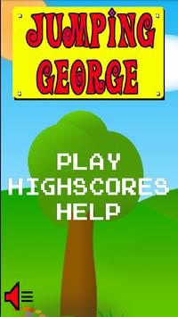 Jumping George poster