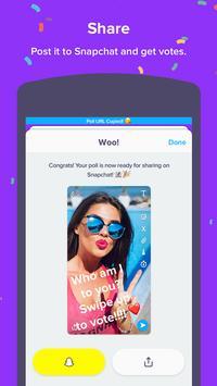 Polly - Polls for Snapchat apk screenshot