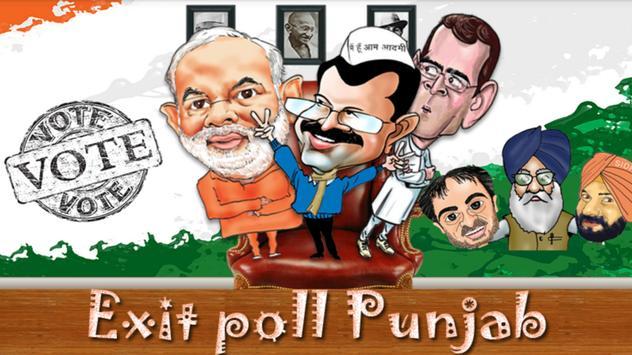 Exit Poll India Punjab apk screenshot