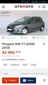 Samochody Używane Polska apk screenshot