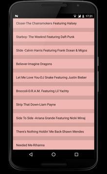 Top Songs Lyrics 2018 poster