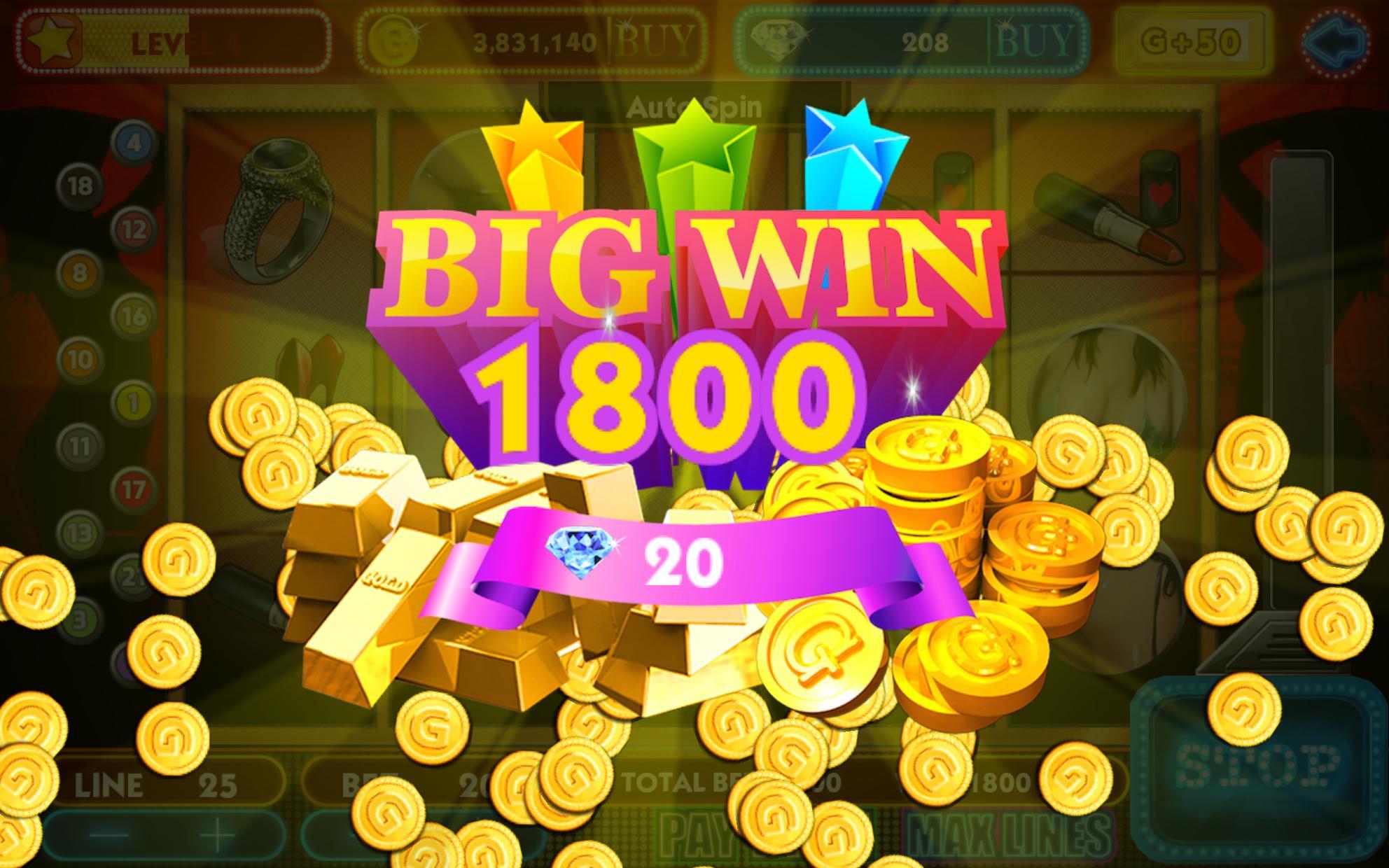 Girl & Vegas Slots Free Casino poster