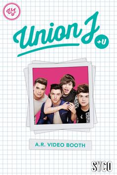 Union J +U A.R. Video Booth poster