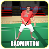Badminton Games Free 2017 3D icon