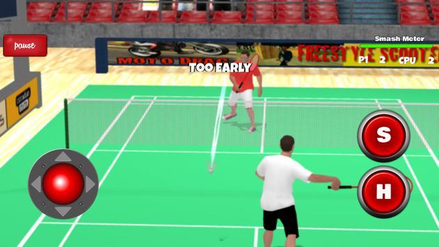 Badminton Games Free 2017 3D screenshot 2