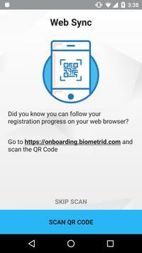 BiometridON apk screenshot
